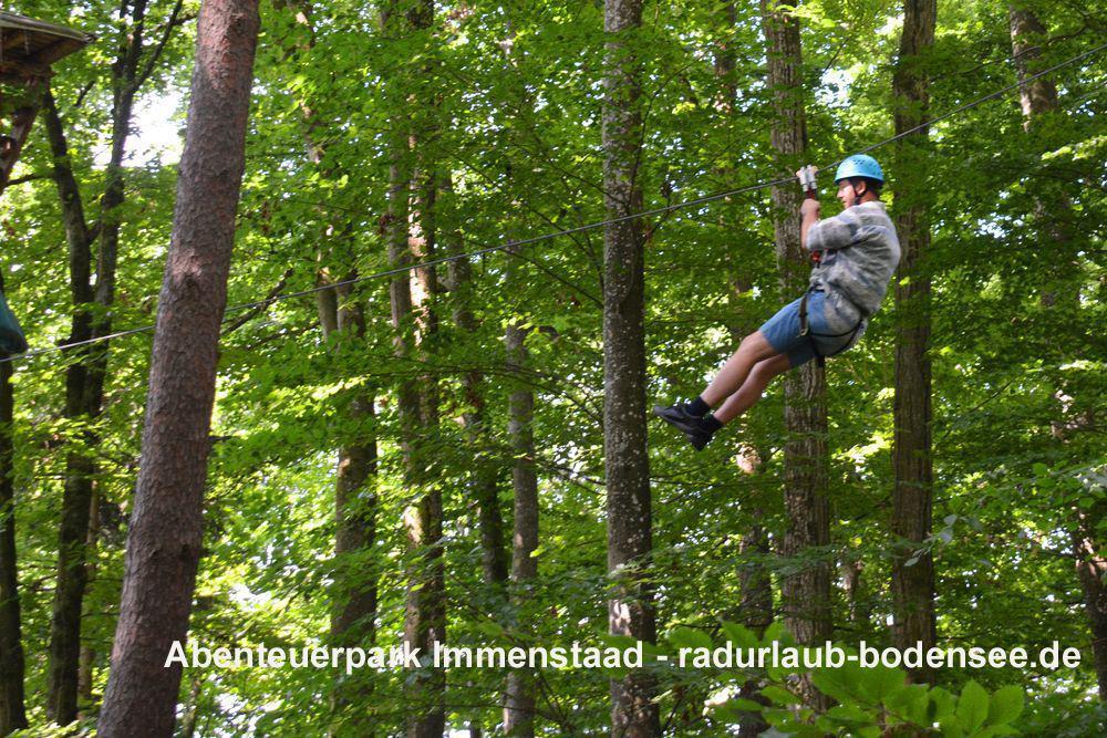 Abenteuerpark Immenstaad - Seilrutsche