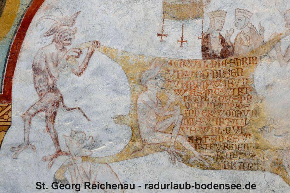 St. Georg Reichenau - Fresko