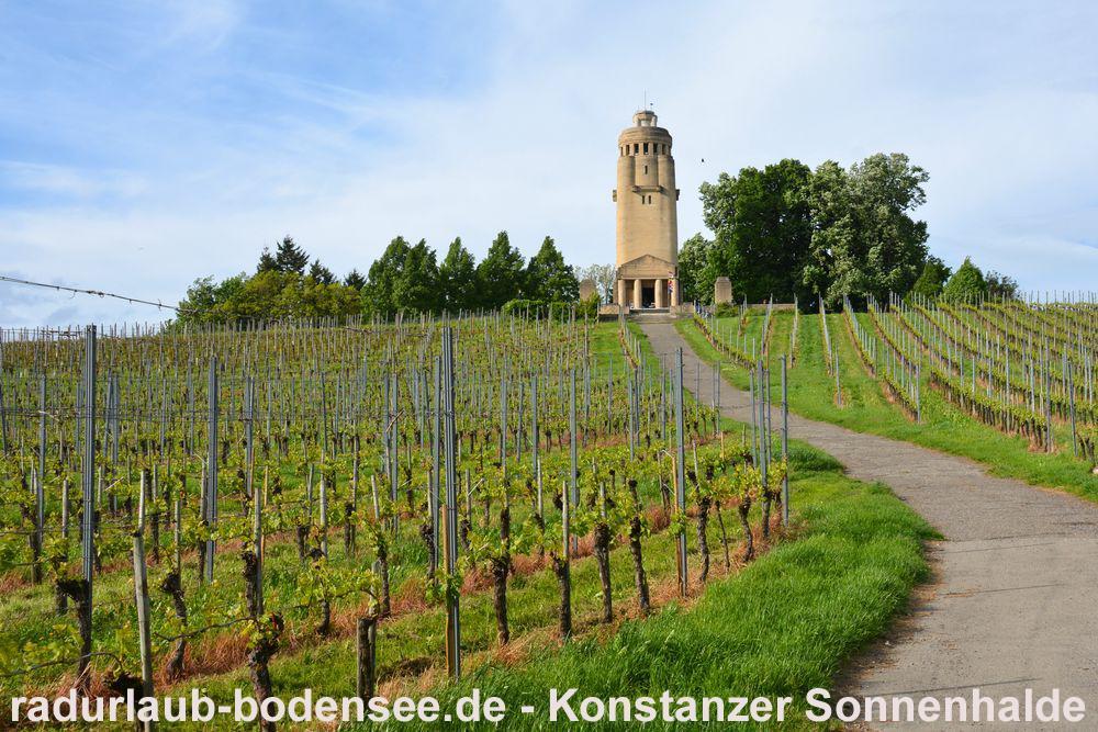 Radurlaub am Bodensee - Konstanzer Sonnenhalde