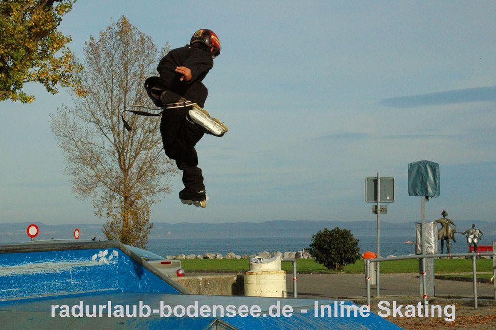 Cycling around Lake Constance - Inline Skating Lake Constance