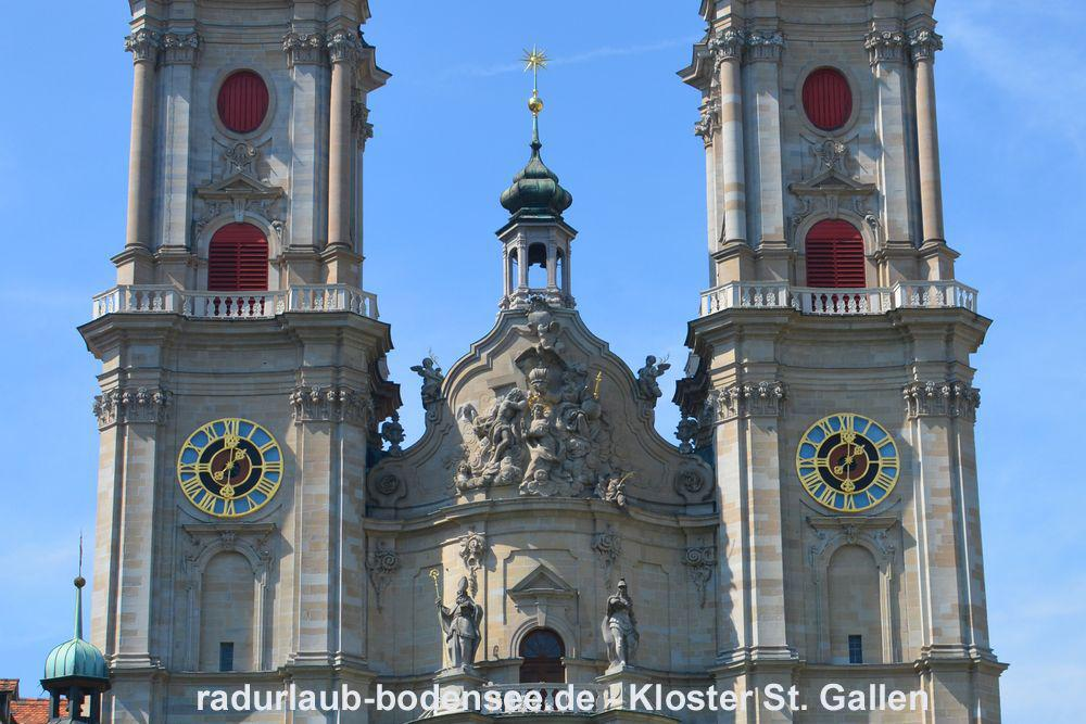 Cycling Lake Constance - Abbey of Saint Gall