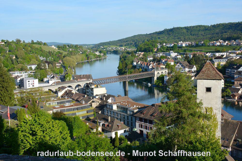 Festung Munot Schaffhausen - Rhein
