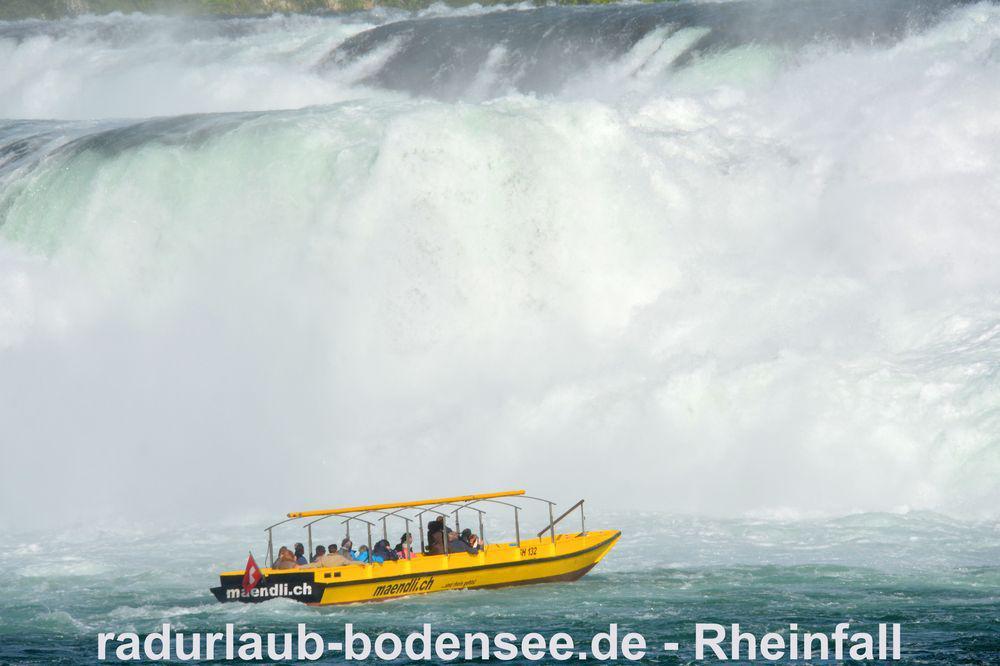 Rheinfall bei Schaffhausen - Felsenfahrt