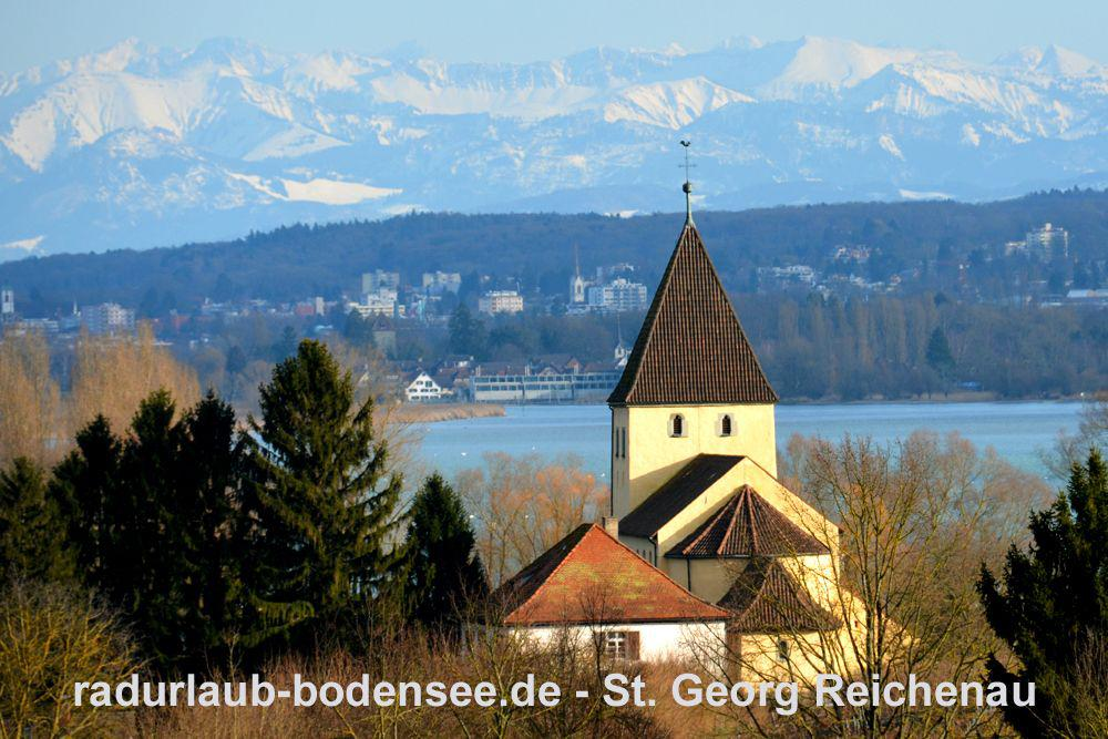 St. Georg Reichenau - Winter