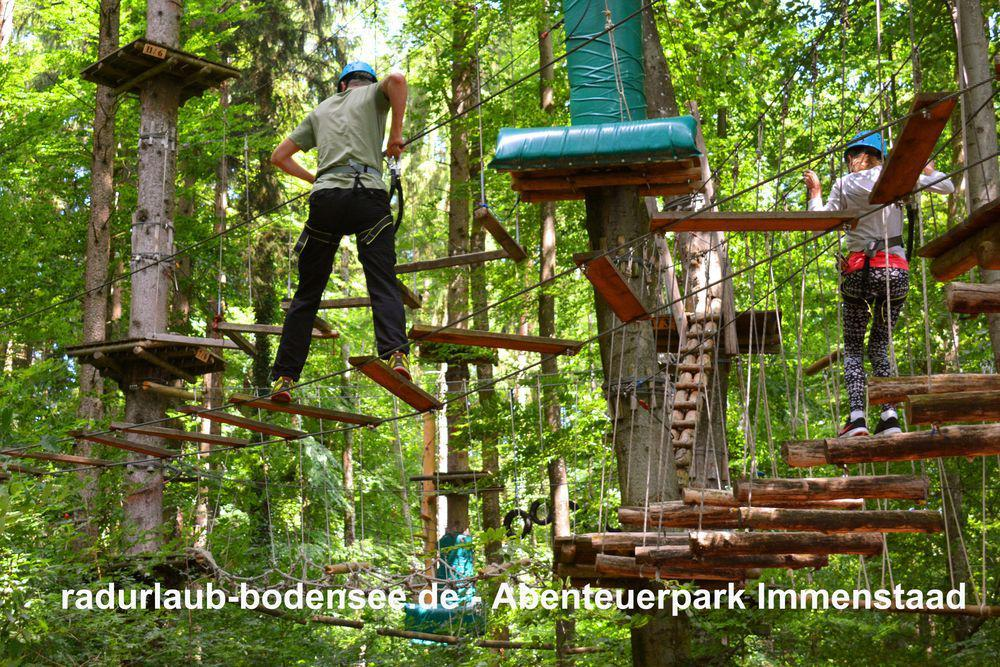 Cycling along Lake Constance - Adventure Park Immenstaad