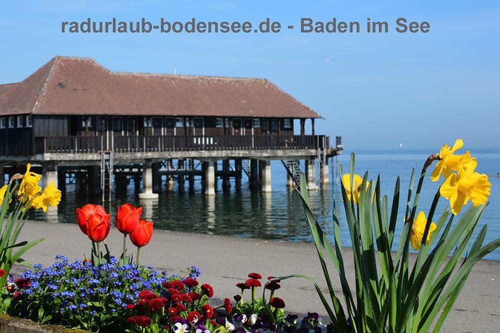 Baden im Bodensee - Badhütte Rorschach
