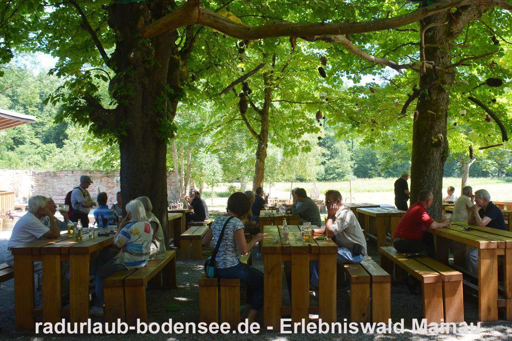 Radurlaub am Bodensee - Erlebniswald Mainau