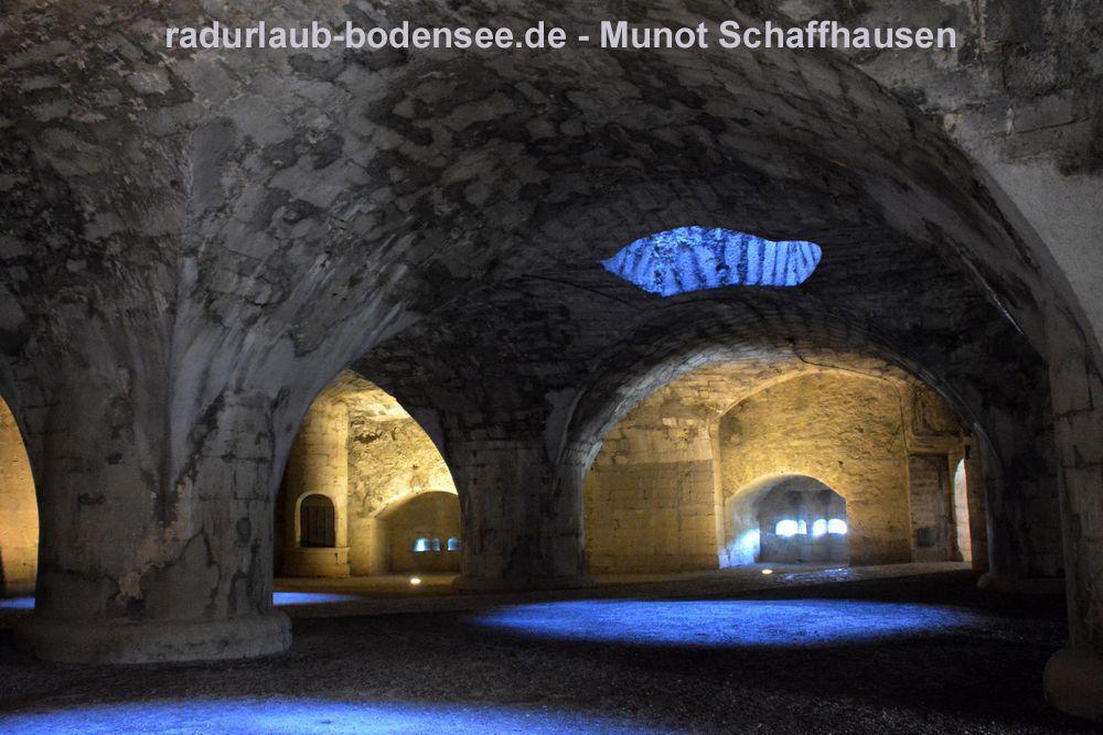 Festung Munot Schaffhausen - Kasematten