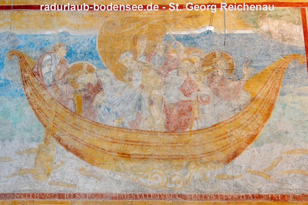 St. Georg Reichenau - Ottonisches Fresko