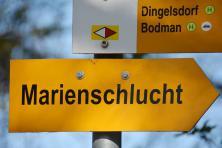 Radurlaub am Bodensee - Marienschlucht bei Bodman
