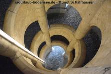 Radurlaub am Bodensee - Festung Munot Schaffhausen