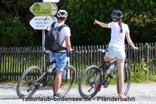 Radurlaub am Bodensee - Die Pfänderbahn in Bregenz