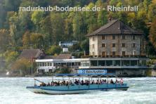 Rheinfall bei Schaffhausen - Schlössli Wörth