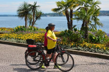 Radeln ohne Gepäck - Radtour am Obersee