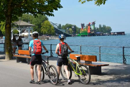 Cycling Lake Constance